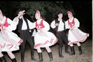 Czárdás is the name of the traditional Hungarian folk dance.