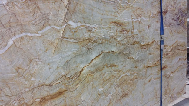 Crema Oniciata Quartzite at Walker Zanger