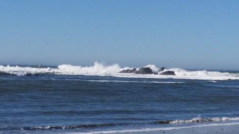 Sail Rock, Half Moon Bay
