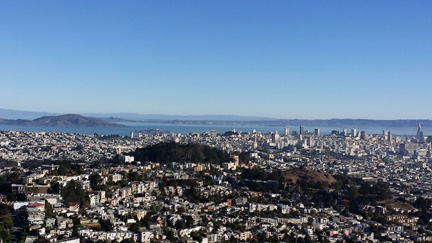 Twin Peaks View of Golden Gate