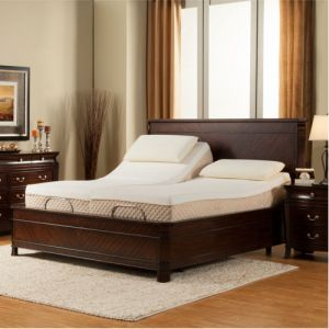 Split king adjustable icomfort bed