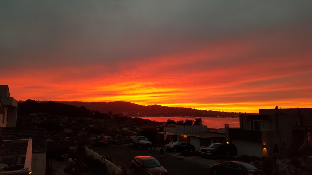 Sunset Over Monterey Bay